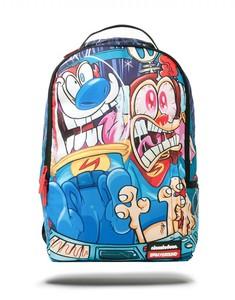Sprayground Backpack תיק גב - Nickleodeon Ren & Stimpy Blast Off