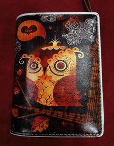 Chun And Dahl ארנק עור - Owl 904