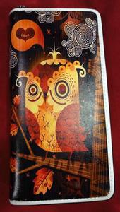 Chun And Dahl ארנק עור סינטטי - Owl 806