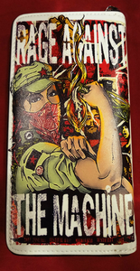 Chun And Dahl ארנק עור סינטטי - Rage Against The Machine 806