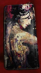 Chun And Dahl ארנק עור סינטטי - Tattooed Girl 806