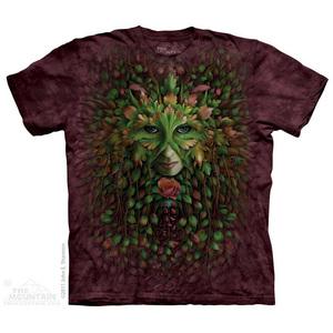 The Mountain חולצה קצרה בהדפס מלא - Green Woman