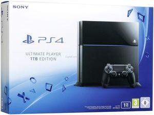 קונסולה Sony Playstation 4 1TB כולל 2 שלטים