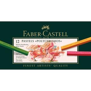 Faber Castell | סט 12 גירי פסטל פוליכרומוס