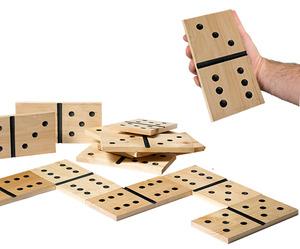 """משחק דומינו Domino ענק 13 ס""""מ"""