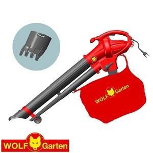 מפוח עלים חשמלי 2600W איכותי שואב ומעיף דגם LBV2600ED וולף גרדן Wolf-garten