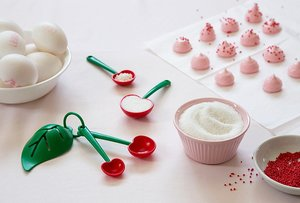 Mon Cherry - כפיות מדידה ומפריד חלבון/חלמון