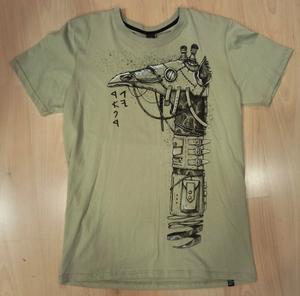 PlazmaLab short sleeves T- shirt - Kamalama Stone