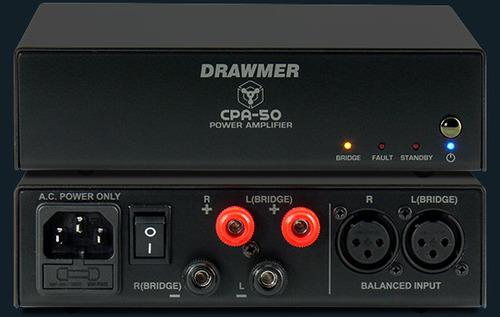 מגבר איכותי לאולפן CPA50 של DRAWMER