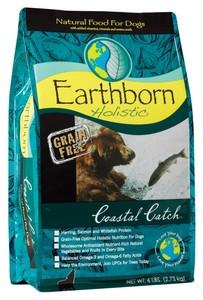 """ארט'בורן מזון הוליסטי דגי קוסטל קטץ' 2.5 ק""""ג EarthBorn Holistic Costal Catch ארטבון"""