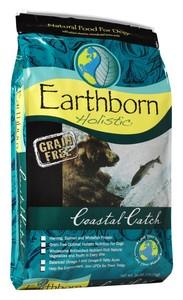 """ארט'בורן מזון הוליסטי דגי קוסטל קטץ' 12 ק""""ג EarthBorn Holistic Costal Catch ארטבון"""