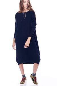 שמלת אוברסייז אסימטרית