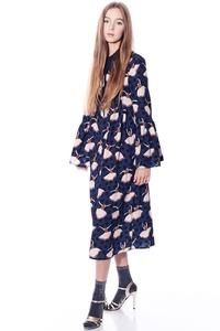 שמלת בלרינה כחולה