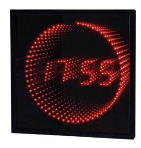 שעון קיר דיגיטלי UNIVERSE NR303 אדום