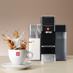 מכונת קפה מעוצבת עם מקציף חלב ILLY דגם: Y5 MILK