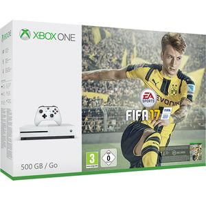 Xbox One S כולל FIFA17 ומנוי Gold Microsoft