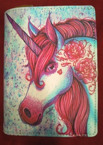 Chun And Dahl ארנק עור - Unicorn 904