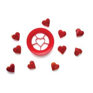Sweet heart - חותכן תותים בצורת לב