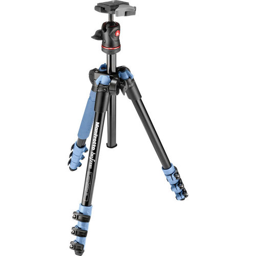 חצובה - Manfrotto BeFree - צבע כחול