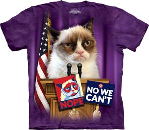 The Mountain חולצה קצרה בהדפס מלא - Grumpy For President