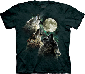 The Mountain חולצה קצרה בהדפס מלא - Three Wolf Moon Classic