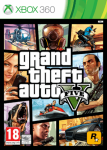 XBOX360 Grand Theft Auto V