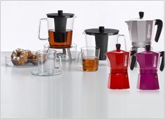 כלים ואביזירם לתה, קפה ויין