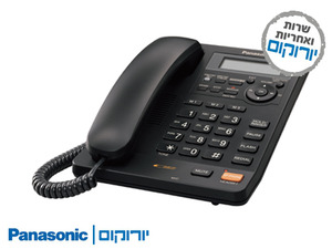 טלפון שולחני+משיבון KXTS-620 פנסוניק