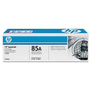 זוג טונרים שחורים מקוריים תוצרת HP דגם CE285AD