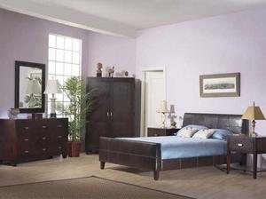 מיטה זוגית מעור אמיתי מבית GAROX דגם MICHELE