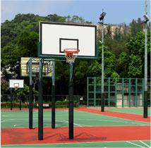 מתקנים לאולמות ספורט ומתקני חוץ