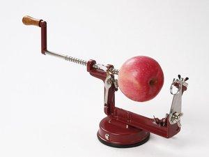 מקלף ופורס תפוחי עץ ותפוחי אדמה