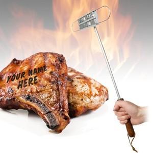 חותמת אישית לצריבה על בשר גריל/BBQ - סט ידית ואותיות להרכבה