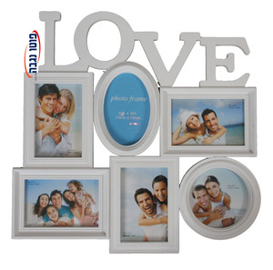 מסגרת LOVE ל-6 תמונות בגודל 10X15