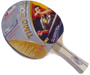 מחבט טניס שולחן Butterfly Timo Boll Silver BASIC