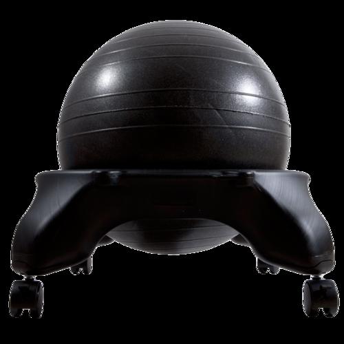 כדור פיטבול / כדור פיזיו עם גלגלים לישיבה