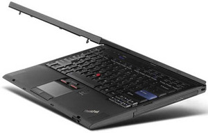 "מחשב נייד לנובו ThinkPad X300 SL7100 13.3"" Windows 7 Pro"
