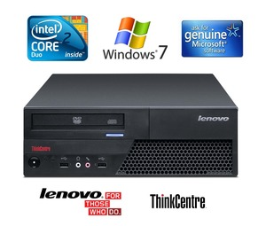 מחשב Lenovo ThinkCenter M58p SFF Core 2 Duo Windows 7/8 מוחדש לנובו
