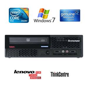 מחשב Lenovo ThinkCenter M58p USFF Core 2 Duo E8400 Windows 7/8 לנובו