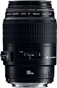 Canon EF 100mm f/2.8 Macro USM  קנון