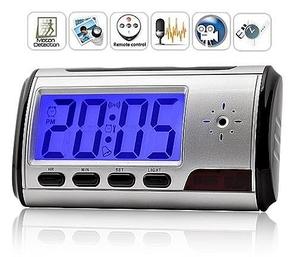 שעון מעורר מצלמה Multi Function Clock באיכות HD