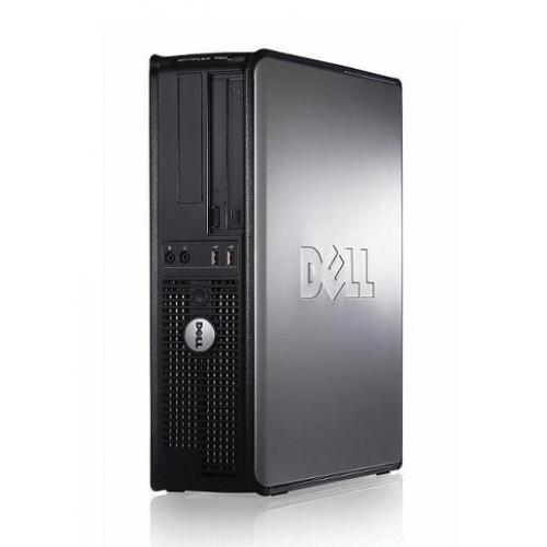תחנת עבודה Dell דגם Optiplex 755,מארז Desktop, מעבד Intel Dual Core במהירות 2.8GHz, זיכרון 2GB, דיסק קשיח 80GB, ללא מערכת הפעלה - מחודש