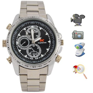 שעון ריגול Spy Watch 4GB באיכות HD