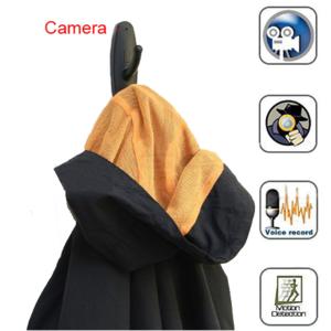 מתלה בגדים מצלמת ריגול נסתרת Colthes Hook Camara