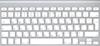 מקלדת אלחוטית עברית-אנגלית Apple MC184HB/B