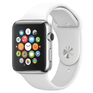 שעון יד חכם Apple Watch Sport 42mm White