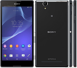 Sony Xperia T2 Ultra Blackכולל FOTA