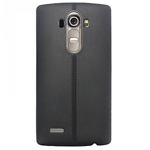 iTechCase G4 Leather Back כיסוי ל LG G4 שחור