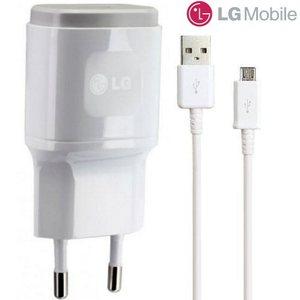 LG Adapter&Micro USB ערכת טעינה מקורית ל LG G4 אל ג'י