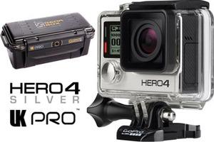 GoPro Hero4 Silver עם תיק מקצועי אחריות שנתיים גו פרו